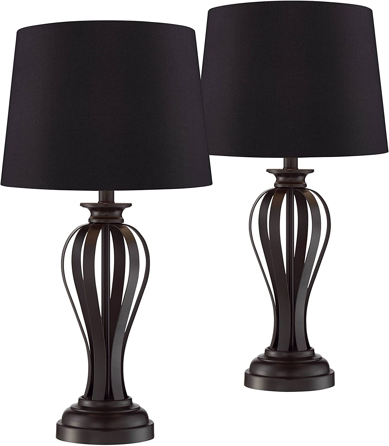 Freddie Mid Century Modern Contemporary New Shipping Free Shipping Table Lamps In a popularity Set Bro of 2