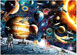 SAPU Space Puzzle 1000 Piece Jigsaw Puzzle Kids Adult – Planets in Space Jigsaw Puzzle