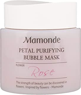 mamonde petal bubble mask