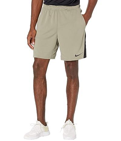 Nike Dry-FIT Knit Short 5.0 (Light Army/Black/Black) Men