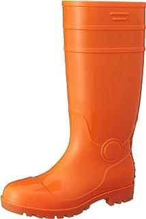 [富士手袋工業] 安全長靴 黒・白 耐油 ロング PVC 先芯入 8893 メンズ