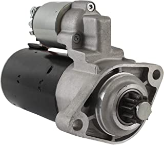 DB Electrical SBO0221 New Starter for 4.8 4.8L Porsche Cayenne 08 09 2008 2009 Part# 948-604-206-00 0-001-125-057, 0-001-1...