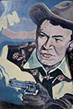 Photograph - Mural: Johnny Mack Brown, 111 S. St. Andrews Street, Dothan, Alabama]- Fine Art Photo Reporduction 24in x 36in