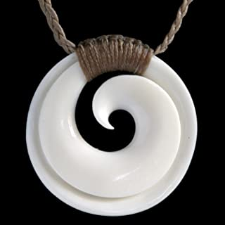 new zealand koru necklace