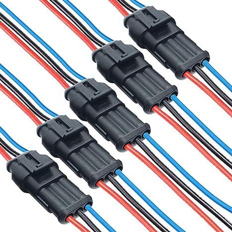 Donjon Kabel Steckverbinder Stecker 1 Polig Elektronik