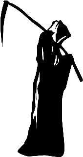 Vinyl Wall Art Decal - Grim Reaper - 41