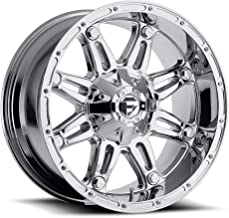 FUEL Off-Road Wheels: Hostage (D530) - Chrome; 22x12 Wheel Size, 8x165.1 Lug Pattern, 125.2mm Hub Bore, 44mm Off Set.