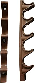 (بني) - قراسين لضبط المقاس لضبط المقاس على شكل كرسي (بني)