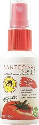 Santecare IBI-246 Mosquito Repellent Spray, 30ml
