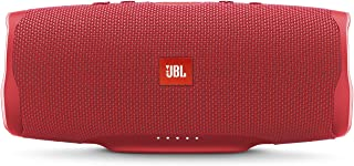 JBL JBLCHARGE4REDAM Red wireless Bluetooth Streaming, 7800mAh power bank Speakerphone, IPX7 Waterproof, JBL Connect, JBL Bass Radiator, Red