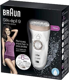 Braun Silk-épil 9 9-561 Depiladora eléctrica inalámbrica