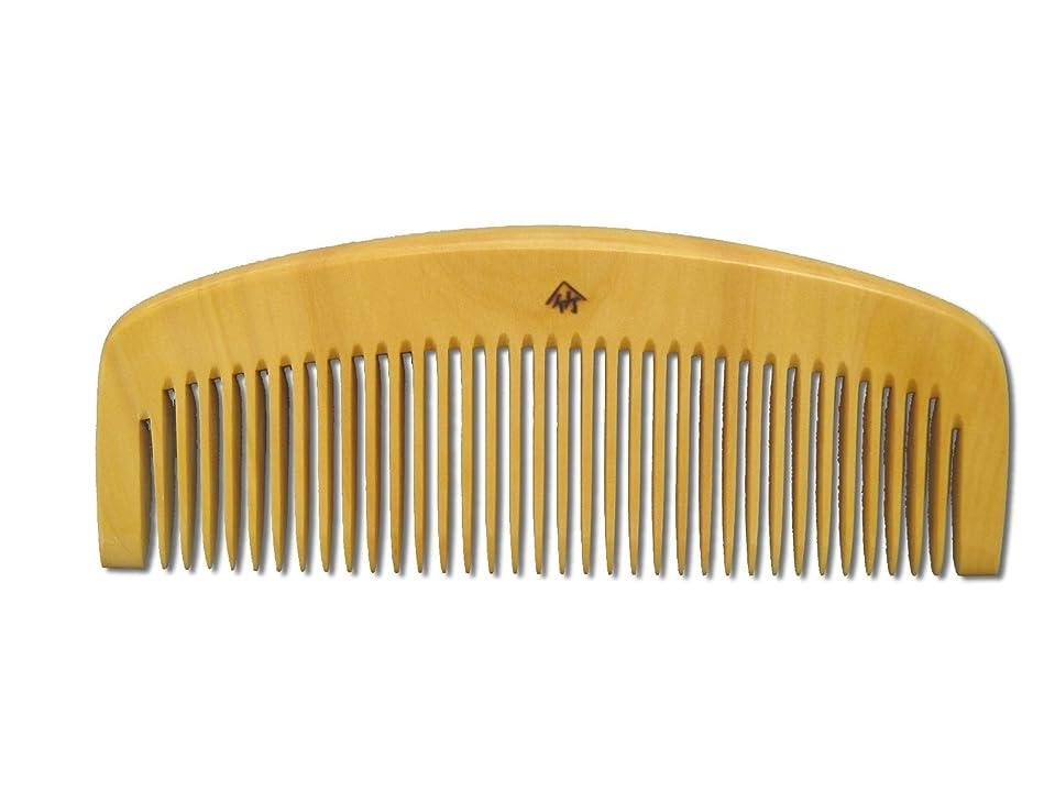 同情的保持する共和国薩摩つげ櫛 とき櫛 三寸五分 荒歯