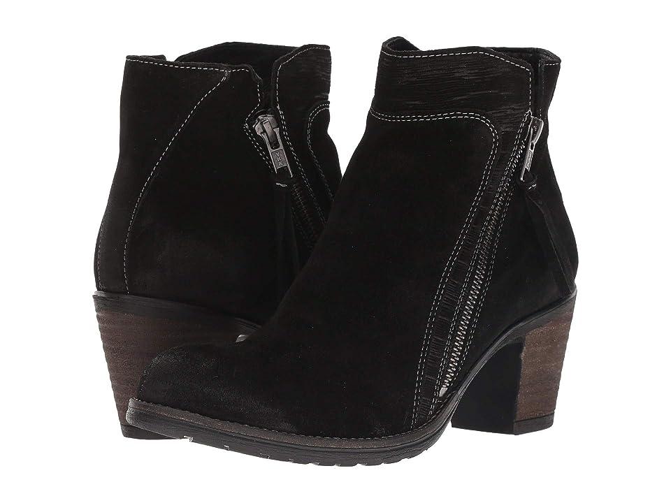Taos Footwear Dillie (Black Suede) Women