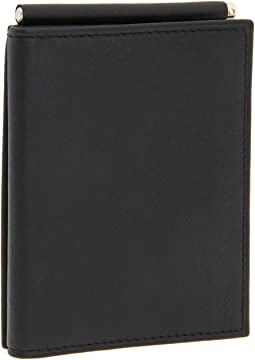 Bosca - Nappa Vitello Collection - Trifold Wallet w/ Money Clip
