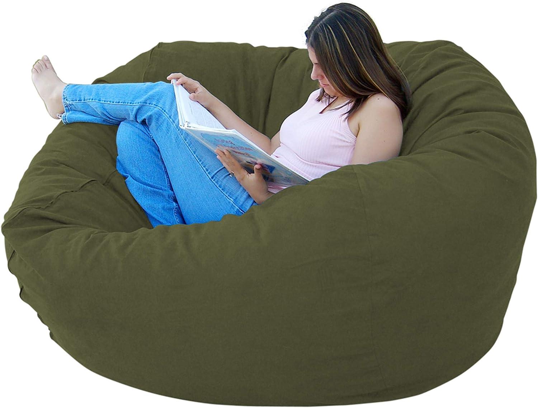 Large Cozy Sack 4-Feet Bean Bag Chair Hunter