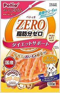 ペティオ (Petio) 犬用おやつ おいしくスリム脂肪分ゼロ ダブルスティック チキン 100g
