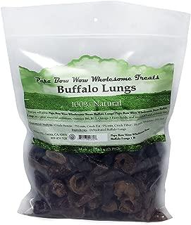 Papa Bow Wow Buffalo Treats for Dogs, Lungs 1 lb