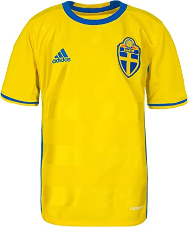 adidas Sweden Home Youth Soccer Jersey- Euro 2016