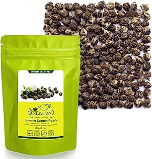 LWXLJMJZC-100g ジャスミン茶 中国茶 茉莉花香 茉莉龍珠 白龍珠 緑茶