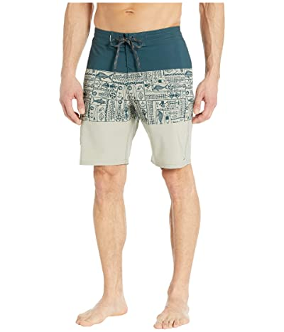 Quiksilver Waterman Angler Triblock 20 Beachshorts Men