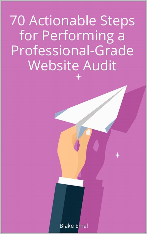 ジョグ転倒鋼The Professional-Grade Website Audit: 70 Actionable Steps So You Can Do It Yourself (English Edition)