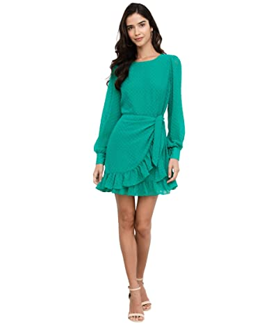 Yumi Kim Daphne Dress (Jewel Emerald Swiss Dot) Women