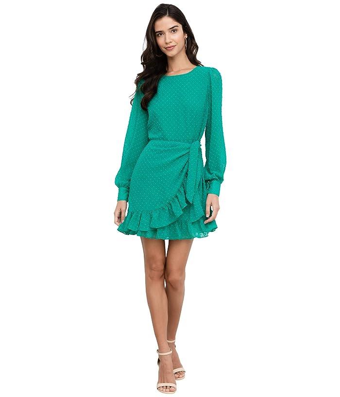 Yumi Kim  Daphne Dress (Jewel Emerald Swiss Dot) Womens Dress