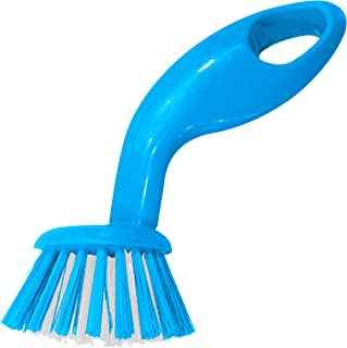 Dairy Blue Dish Brush – Dishwashing and Kitchen Cleaning and Scouring - Easy Grip Handle, Gentle Bristles – Color Coded Ho...