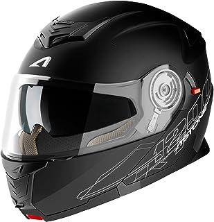 Casque polyvalent route et ville Casque de moto 2 en 1 Casque de moto modulable exclusive matt black M RT800 SOLID Astone Helmets Casque en polycarbonate
