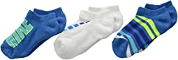 Nike Kids - Performance Cushion No Show 3-Pair Socks (Little Kid/Big Kid)