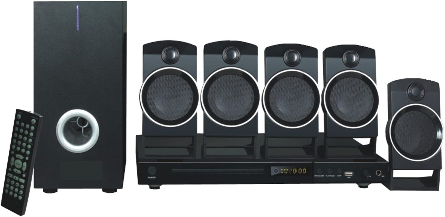 NAXA Electronics ND-859 5.1-Channel Home Theater DVD Challenge the lowest price of Japan ☆ Animer and price revision Med Digital