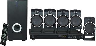 Naxa Electronics NKM, Home Theater con DVD de 5.1 Canales y Sistema de Karaoke, Negro