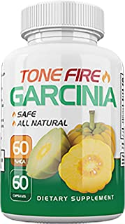 Tone Fire Garcinia Pills - Advanced Weight Loss - Thermogenic Fat Burning Formula