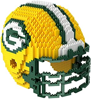 FOCO NFL Unisex-Child 3D BRXLZ Building Blocks - Helmet
