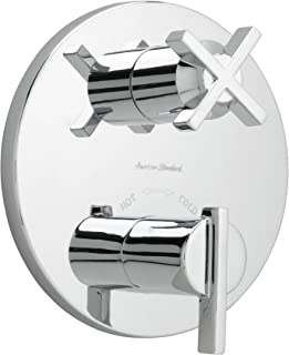 American Standard T430740.002 Berwick Two Handle Thermostat, Polished Chrome