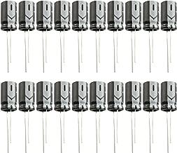 PSCCO 20pcs 25V 1000uf Aluminum Electrolytic Capacitor 10x17mm