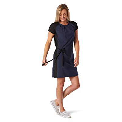 Smartwool Merino Sport Short Sleeve Dress (Deep Navy) Women