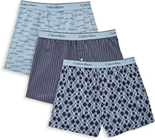 Calvin Klein Men`s Cotton Slim Fit Boxers 3 Pack