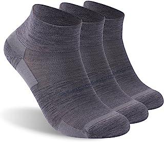ZEALWOOD Merino Wool/Bamboo No Show/Ankle/Crew Athletic Socks Running Golf Tennis Hiking Socks,1/3 Pairs