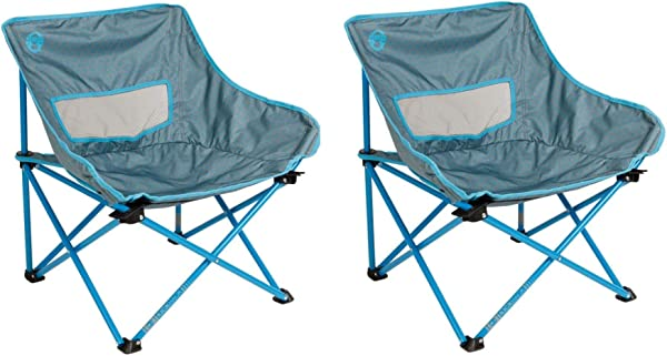 Coleman Kickback Breeze Chair Blue 2 Set