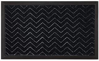 GRIP MASTER Durable Tough Natural Rubber Doormats, 29x17 Size, Waterproof Boots Scraper Mats, Commercial Heavy Duty Indoor...