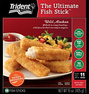 Trident, The Ultimate Fish Stick, 15 oz (Frozen)