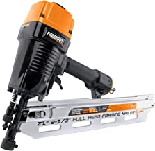 "Freeman PFR2190 Pneumatic 21 Degree 3-1/2"" Full Round Head Framing Nailer with Case.."