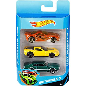 Mattel Hot Wheels (3 pack) Design may vary…
