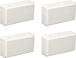 Heath Zenith SL-2796-02 Basic Series Wired Door Chime, White (Four Pack)