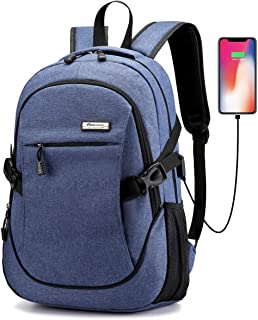Laptop Backpack, Business Anti Theft Waterproof Travel Backpack