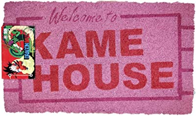 SD Toys Kame House Dragon Ball Doormat, Coconut Fibre, One Size