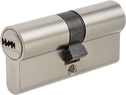 avec 6cl/és 45//50mm A//B Abus ec660Profil Double cylindre Longueur avec carte de s/écurit/é C = 95mm