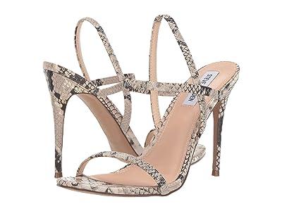 Steve Madden Gabriella Heeled Sandal (Gold Snake) High Heels