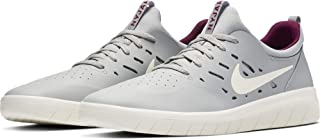 SB Nyjah Free Men's Skateboarding Shoes - AA4272 (9.5 M US, Atmosphere Grey/Pale Ivory)